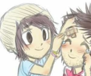 alex gaskarth, all time low, and fan art image