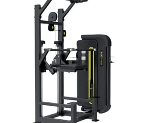 assisted chin up machine and dip machine image