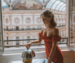 fashion, style, and breakfast image