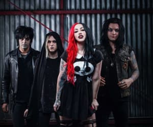 new years day, ash costello, and nikki misery image