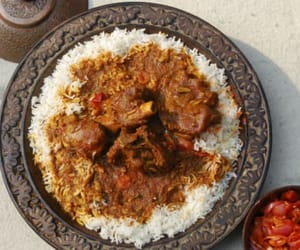 food recipes, mutton recipes, and indian recipes image