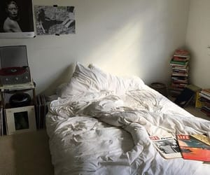 room, grunge, and bed image