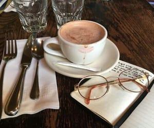 coffee, food, and glasses image