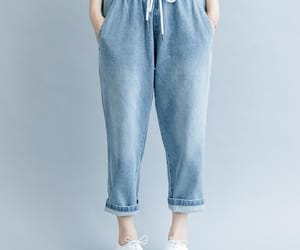 etsy, harem pants, and trousers image
