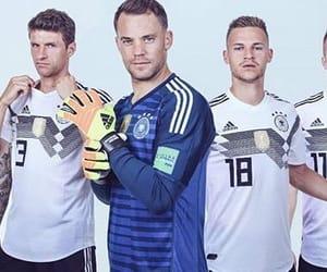soccer, goalkeeper, and thomas muller image