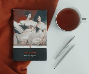 aesthetic, elizabeth bennet, and tea image