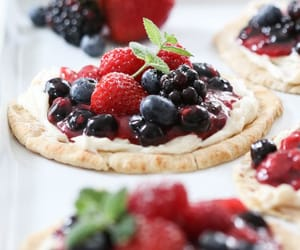 blueberries, food, and FRUiTS image
