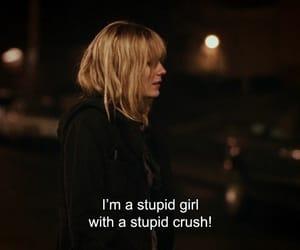 girl, crush, and sad image
