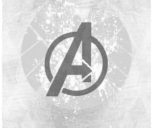 Avengers, Logo, and Marvel image
