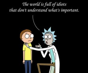 rick and morty, quotes, and love image