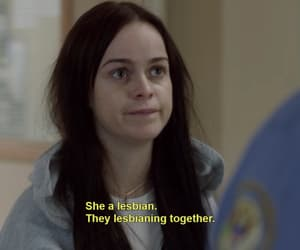 orange is the new black, lesbian, and oitnb image