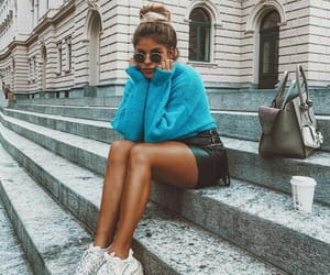 blue, casual, and fashion image