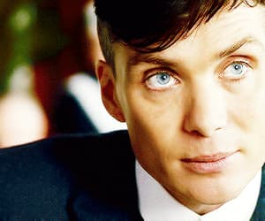 blue eyes, thomas shelby, and cillian murphy image
