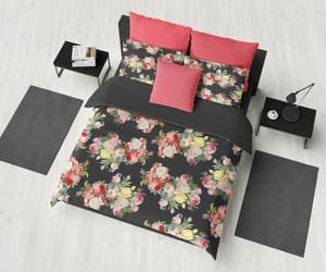 bedroom decor, etsy, and comforters and duvet image