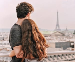 couple, aesthetic, and paris image
