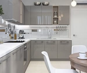 home, kitchen, and simple image