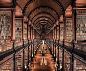 book, dublin, and library image