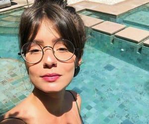 blue, eyeglasses, and meninas image