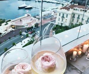 champagne, fashion, and sea image