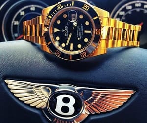 rolex, Bentley, and car image