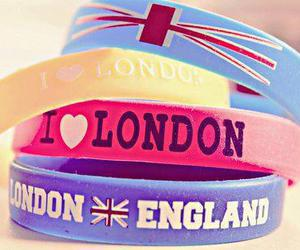 london, england, and bracelet image