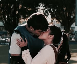 couple, kiss, and noah centineo image