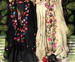 dress, méxico, and flower image