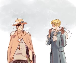 ace, onepiece, and sabo image