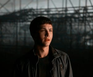 logan, percy jackson, and lerman image