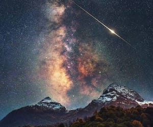 landscape, milky way, and russia image