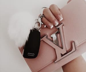 fashion, pink, and Louis Vuitton image