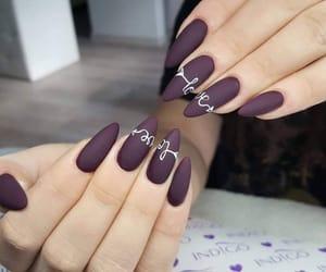 nails, nailart, and gelnails image