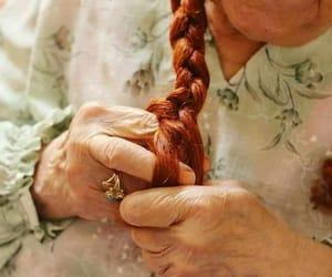 aging, follow, and grandma image