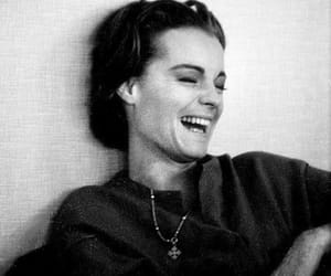 50s, actress, and laugh image