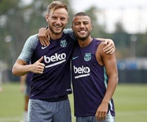 Barca, fc barcelona, and training image