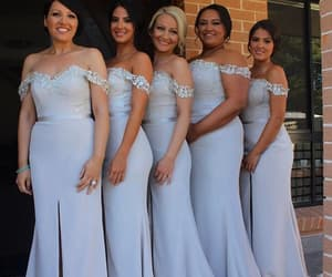 bridesmaids, sexy, and chic image