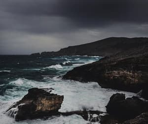waves, coast, and nature image
