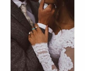 couple, dress, and cute image