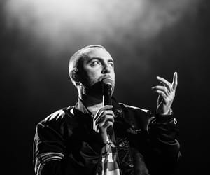 mac miller, rapper, and rip image