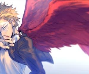 hawk, anime, and boku no hero academia image