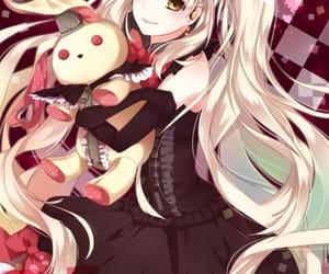 black, kawai, and manga image