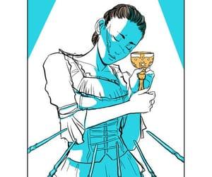 draw, clockwork princess, and tarot card image
