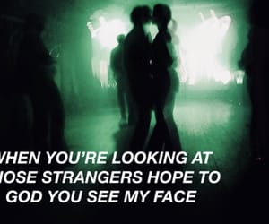aesthetic, green, and Lyrics image