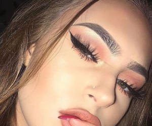 casual, makeup eyes, and Easy image