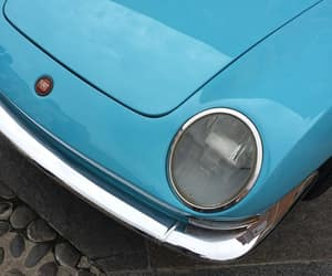 blue, cars, and fiat image