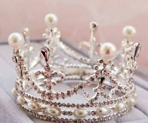 crown, diamonds, and gold image