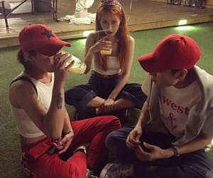 cool, girls, and red hair image