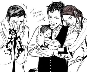 Art by Cassandra Jean - Jem, Will, Tessa and James