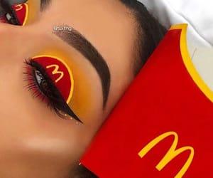 makeup and McDonald's image