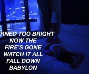 aesthetic, Babylon, and blue image